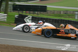 Olivier Panis overtaking Enrique Bernoldi? Actually, ve overtaking move by David Lloyd