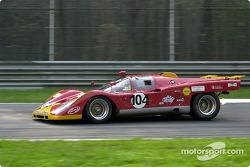 Patrick Stieger en el Ferrari 512M