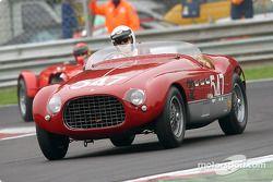 Umberto Camellini dans la Ferrari 340 MM 1953