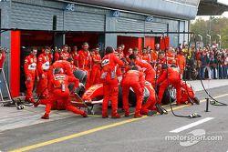 Pitstop, Rubens Barrichello