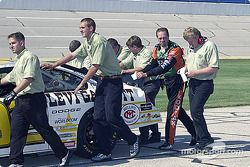 Stacy Compton y el personal del Melling Racing