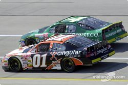 Jason Leffler y Ron Hornaday