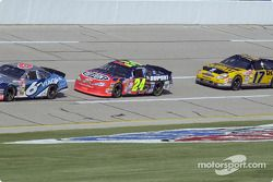 Mark Martin, Jeff Gordon y Matt Kenseth