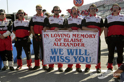 In memory of Blaise Alexander