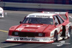 Klaus Ludwig won two IMSA GT races with the Miller Mustang in 1981, the first racing season for Ford Special Vehicle Operations