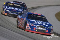 Dale Jarrett, Robert Yates Racing, Ford Taurus, Mike Skinner, Richard Childress Racing, Chevrolet Monte Carlo