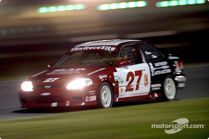 The Bill Fenton Motorsports Honda Civic Si