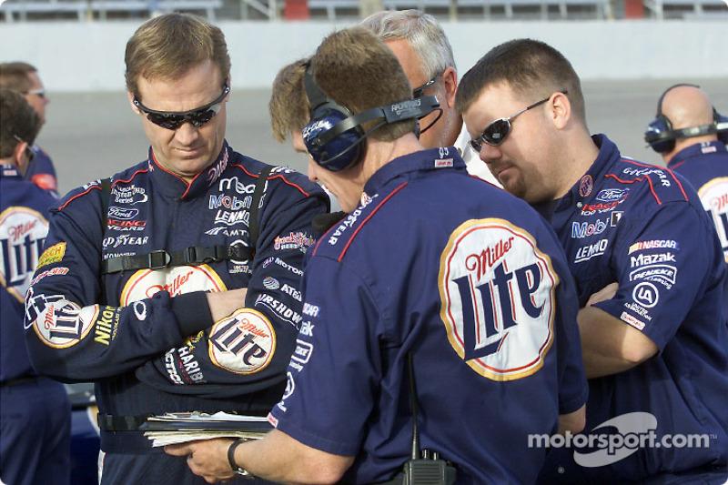 Rusty Wallace y ek equipo del Penske South