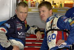 Mark Martin y Jeff Burton