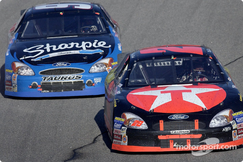 Ricky Rudd and Kurt Busch