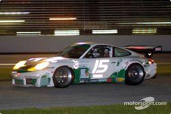 Porsche n°15 de Kim Hiskey et Randy Pobst, vainqueur de la catégorie GT