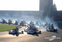 Formula A 100cc: Départ de la course