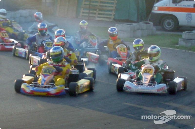 InterContinental A 100cc: départ de la course