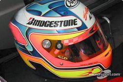 The helmet of 2001 World Champion Vitantonio Liuzzi