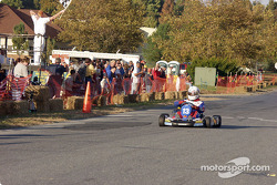 #13 Jim Schultz, of Philadelphia, PA, takes the Direct Drive checkered flag