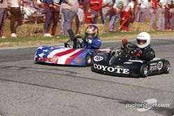 Briggs Junior Sportsman-2 #98-Paul Ward et #96-John Macklin, Jr.