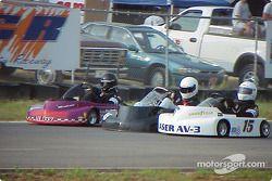 Les pilotes Briggs Super Heavy sur la ligne droite de retour : 15-Michael Hayworth