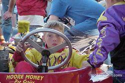 Jake Crum sur la grille Junior Sportsman-1 Lite's