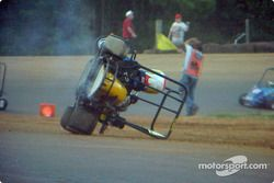 01-Nick Lewis takes a wild ride in Junior Champ