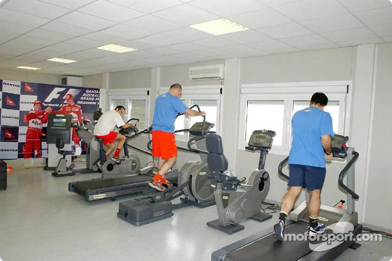 Ferrari'in yeni gym