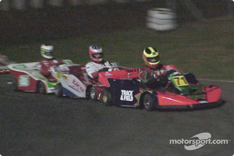Felipe Giaffone, Rubens Barrichello et Pedro Araujo