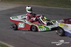 Rubens Barrichello en action