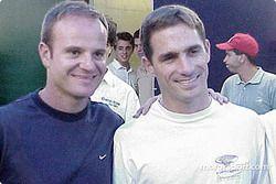 Rubens Barrichello et Felipe Giaffone avant la course