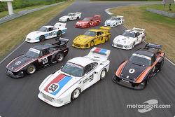 Emmenés par #59 Peter Gregg/Hurley Haywood Brumos Porsche 935, et les deux Ted Field/Danny Ongais Interscope Racing Porsche 935, 7 Porsche 935 à Lime Rock Park