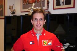 Ferrari new test driver Luciano Burti