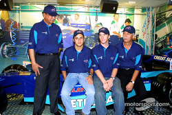Felipe Massa en Nick Heidfeld