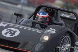Jack Baldwin au freinage avec la nouvelle Judd Riley & Scott Mark III-C du Robinson Racing, en final