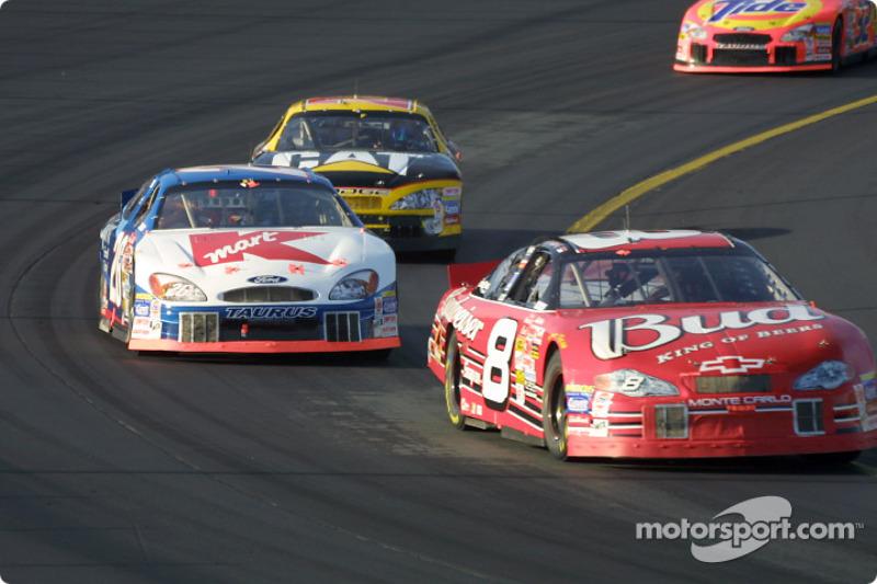 Dale Earnhardt Jr. y Jimmy Spencer