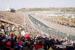 La afición en el New Hampshire International Speedway