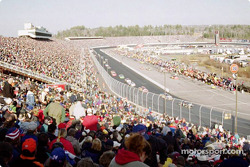 La afición en el New Hampshire International Speedway