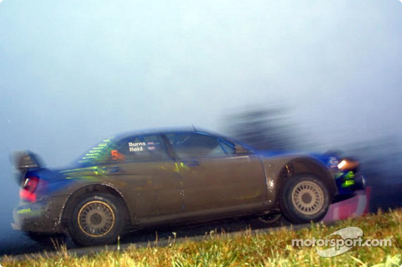 Ричард Бёрнс и Роберт Рид, Subaru WRT, Ралли Великобритания 2001 года