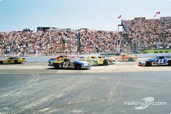 Accident: Michael Waltrip, Buckshot Jones et Ken Schrader