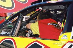 Trabajando en el auto de Andy Houston