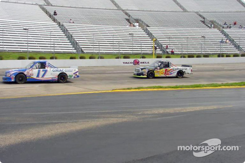 Ricky Hendrick and Ted Musgrave