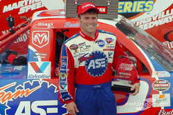 Race winner Scott Riggs