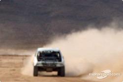 Chase in the desert