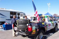 LASD Ford Ranger on contingency row