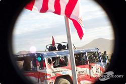 Rod Hall Hummer Pro Class 4100 start line