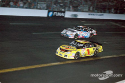 Steve Park and Jeff Burton