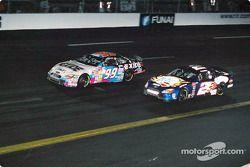Jeff Burton, Roush Racing, Ford Taurus, Rusty Wallace, Penske-Kranefuss Racing, Ford Taurus