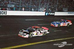 Dale Earnhardt, Richard Childress Racing, Chevrolet Monte Carlo, Dale Jarrett, Robert Yates Racing, Ford Taurus
