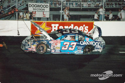 Joe Nemechek in trouble