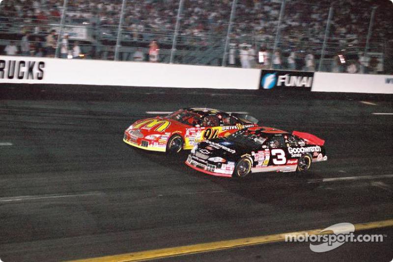 Dale Earnhardt und die Gegner