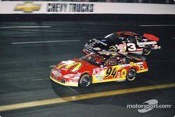 Bill Elliott, Bill Elliott Racing, Ford Taurus, Dale Earnhardt, Richard Childress Racing, Chevrolet Monte Carlo