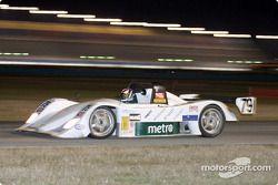 Sports Car Racing Team Sweden durant la nuit à Daytona