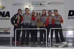 Archangel Motorsport Services, champion sur le podium de Daytona